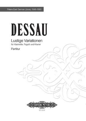 Dessau, Paul: Lustige Variationen