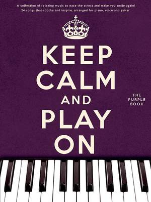 Keep Calm And Play On Product Image