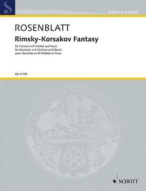 Rosenblatt, A: Rimsky-Korsakov Fantasy