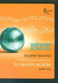 Winner Scores All for Descant Recorder