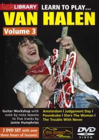 Eddie Van Halen: Learn To play Van Halen - Volume 3