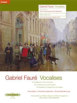 Fauré, G: Vocalises