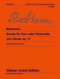 Beethoven, L v: Sonata op. 17