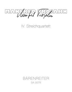 Trojahn, Manfred: IV. Streichquartett
