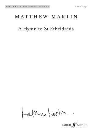 Matthew Martin: A Hymn to St Etheldreda