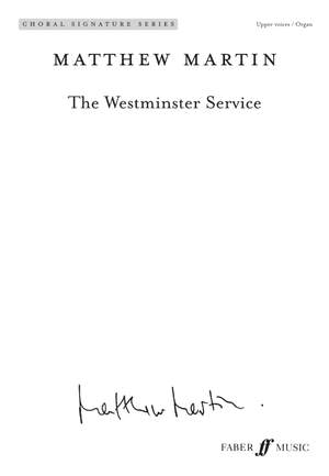 Matthew Martin: The Westminster Service (Upper Voices)