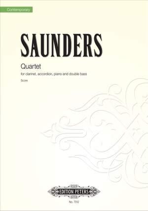 Saunders, Rebecca: Quartet