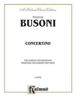 Ferruccio Busoni: Concertino, Op. 48