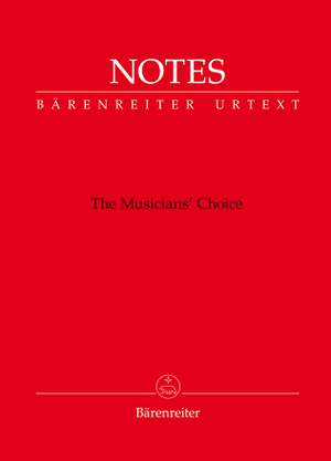 """Bärenreiter Notes """"The Musician's Choice"""" (Pack of 10)"""