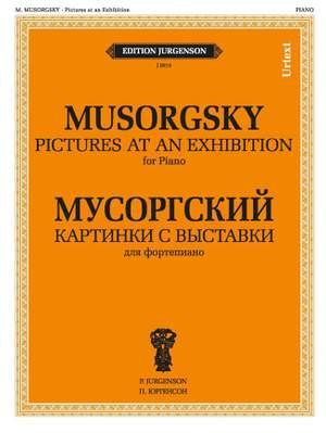 Moussorgsky, M: Bilder einer Ausstellung