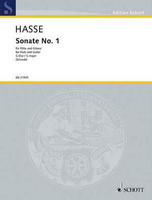 Hasse, J A: Sonata No. 1 G major