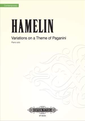 Hamelin, Marc André : Variations on a Theme of Paganini