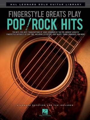 John Leavitt: Fingerstyle Greats Play Pop/Rock Hits