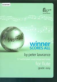 Winner Scores All for Flute with CD