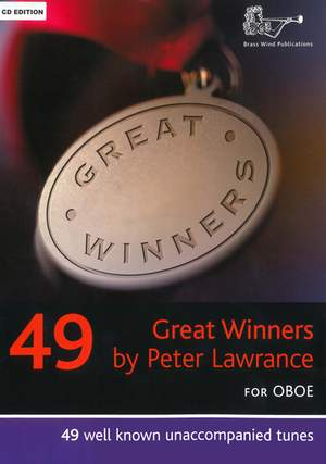 Lawrance: Great Winners for Oboe with CD