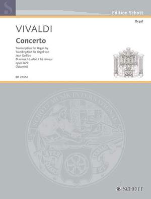 Vivaldi, A: Concerto op. 26/9