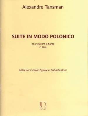 Alexandre Tansman: Suite in Modo Polonico