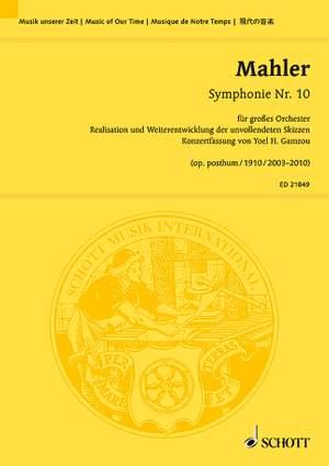 Mahler, G: Symphonie Nr. 10