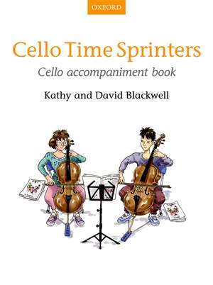 Blackwell, Kathy: Cello Time Sprinters Cello Accompaniment Book