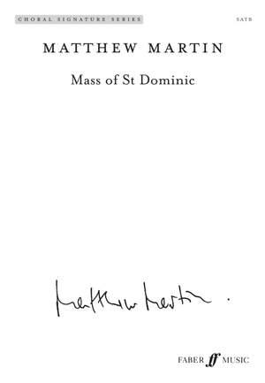 Matthew Martin: Mass of St Dominic. SATB (CSS)