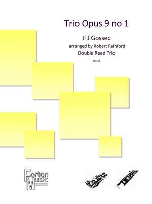 F J Gossec: Trio Opus 9 no 1