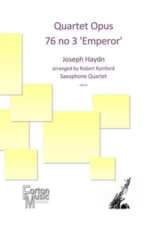 Joseph Haydn: Quartet Opus76 no 3 'Emperor Quartet'