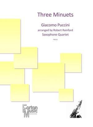 Giacomo Puccini: Three Minuets