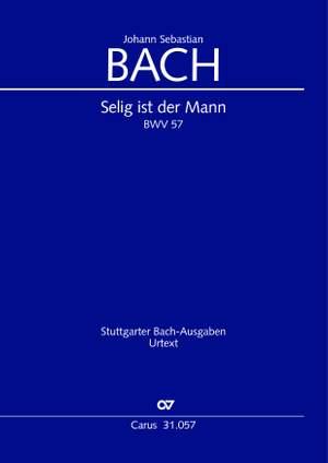 Bach, Johann Sebastian: Selig ist der Mann