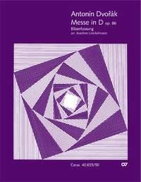 Dvorák, Antonín: Mass in D major (arr. für Bläserquintett)