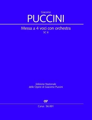 New Puccini Edition, vol. III/2: Messa a 4 voci con orchestra