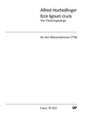 Hochedlinger, Alfred: Vier Passionsgesänge