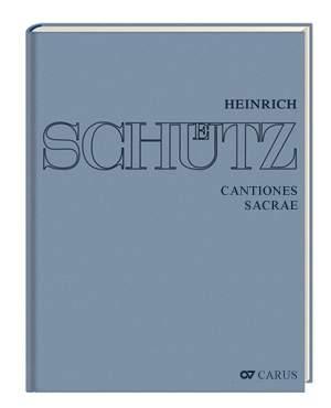 Schütz, Heinrich: Cantiones sacrae (Schütz Complete Edition, vol. 5)