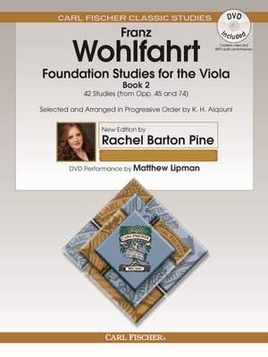 Franz Wohlfahrt: Foundation Studies for the Viola, Book 2