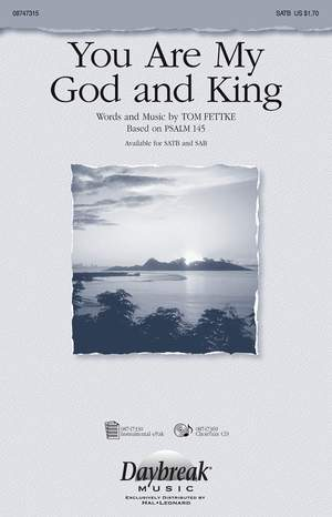 Tom Fettke: You Are My God And King