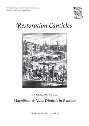 Daniel Purcell: Magnificat & Nunc dimittis in E minor