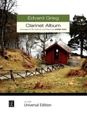 Grieg, E: Clarinet Album