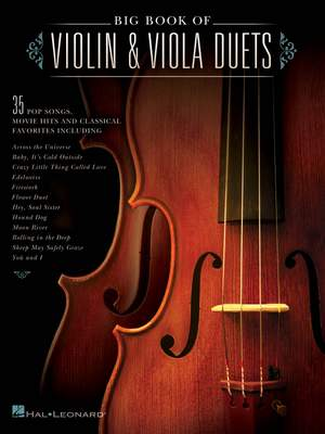 Big Book of Violin & Viola Duets Product Image