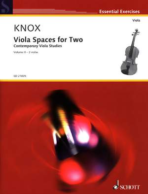 Knox, G: Viola Spaces for Two Vol. 2 Product Image