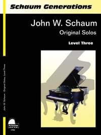 John W. Schaum: Original Solos Level Three