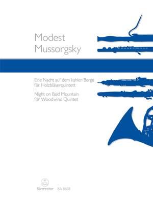 Mussorgsky, Modest: Night on Bald Mountain for Woodwind Quintet
