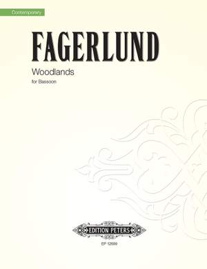 Sebastian Fagerlund: Woodlands for solo bassoon
