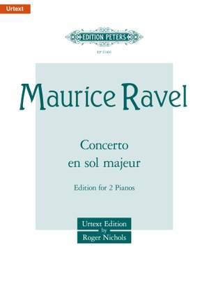 Ravel, M: Piano Concerto in G major