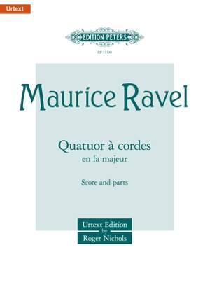 Ravel, M: String Quartet