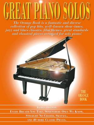 Great Piano Solos - The Orange Book Product Image