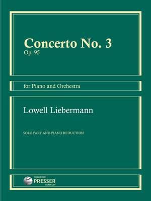 Liebermann, L: Concerto No. 3 op. 95
