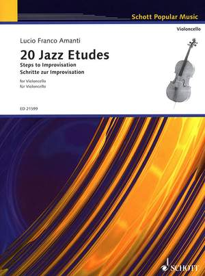 Amanti, L F: 20 Jazz Etudes Product Image