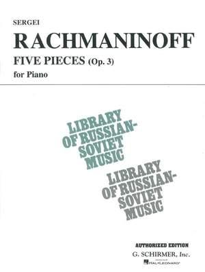 Rachmaninov: 5 Pieces: Op. 3 (VAAP Edition)