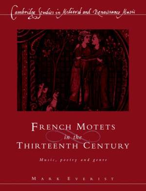 French Motets in the Thirteenth Century