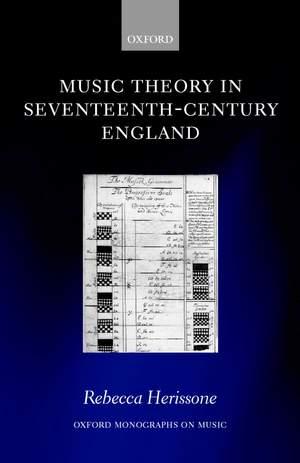 Music Theory in Seventeenth-Century England