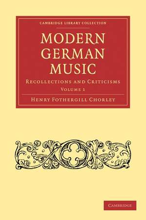 Modern German Music Volume 1